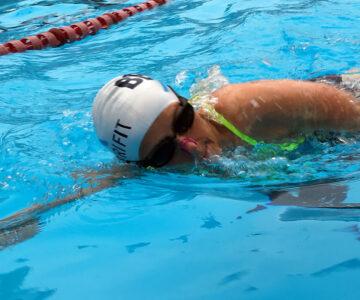 Swimmer in Bex Tri fit class