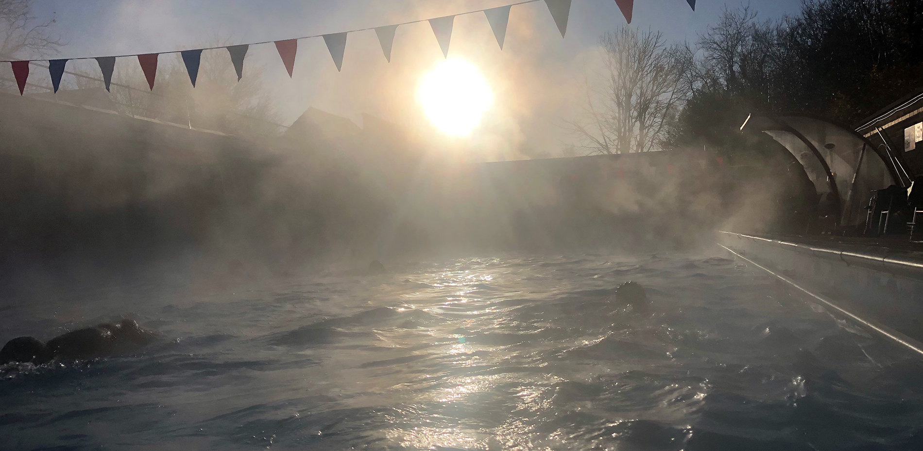 Early morning open air swimming Chesham