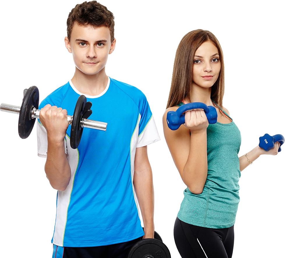 Teenage boy and girl - junior membership